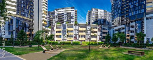 Obraz na plátně Apartment building in inner Sydney suburb NSW Australia