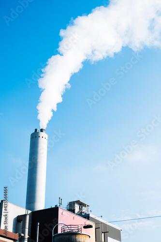 Fotografija smoke from a chimney