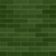 Green Tiles. Tiles Texture. Seamless Texture.
