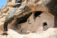 Gila Cliff Dwellings National Monument In New Mexico, USA