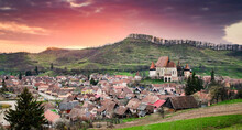Biertan, Village With Fortified Churches, UNESCO World Heritage Site, Saxonian Churches, Romania
