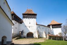 Fortified Church And Fortress Of Viscri, UNESCO World Heritage Site, Transylvania, Romania