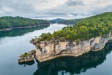 Rocky Point On Summersville Lake, West Virginia