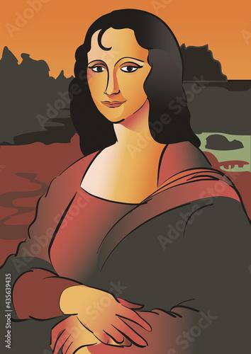 Fotografia Mona Lisa