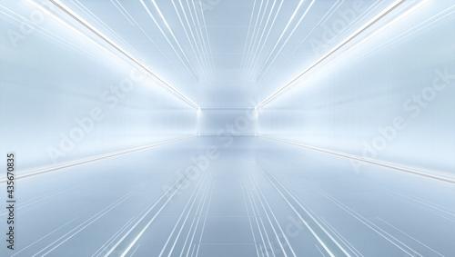 Fényképezés uturistic tunnel with light