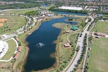 Miramar Park, South Florida Aerial View