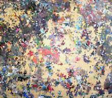 Paint Palette Confetti Background