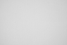 White Textured Wall Background.