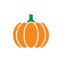 Pumpkin Flat Icon