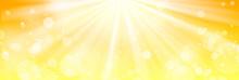 黄色のキラキラ背景