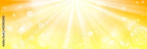 Slika na platnu 黄色のキラキラ背景