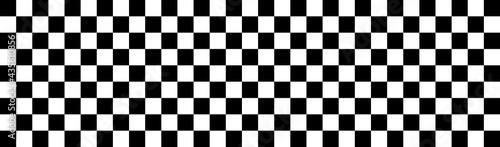 Canvas Checkered flag