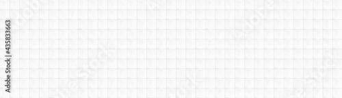 Leinwand Poster White square ceramic tiles