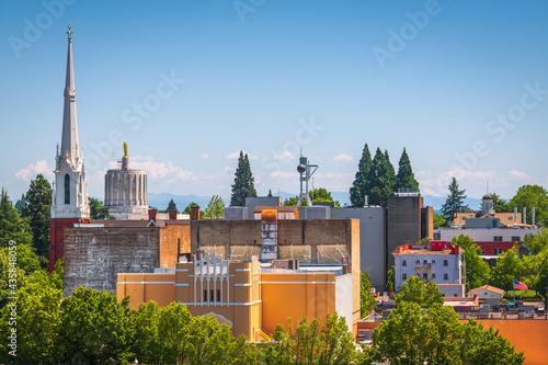 Foto Salem, Oregon, USA Downtown Cityscape