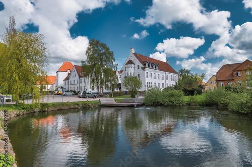 Fototapeta Ryslinge high school is the oldest in Denmark