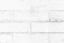 New Exterior White Cement Block Wall Pattern And Background Seamless
