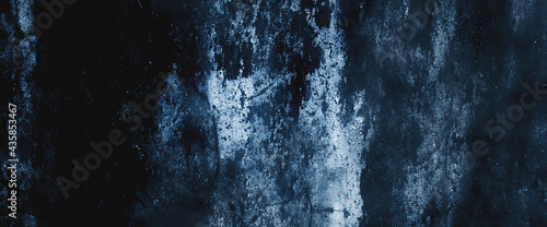 Dark blue concrete and stucco walls to showcase the product and backdrop