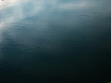 Dark Deep Blue Waves Ripple Claming Lake Background