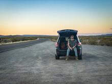 Taking A Break On The Road