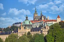 Prague Castle Hradcany Prague Old Town Cityscape Czech Republic