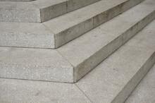Stone Stairs Corner Close Up