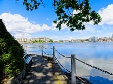 Inner Harbor In Victoria BC