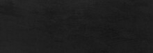 Panorama Of Large Industrial Black Steel Plate Texture And Background Seamless