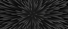 Halftone Abstract Background Movement In A Circle . Starfall, The Movement Of Star Trails. Technology Design. Texture Rays Of Starbursts, Directed Lines. 3d Rendering Vector