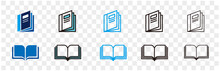 Illustration Of Catalogue Icon Vector
