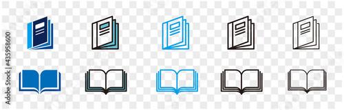 illustration of catalogue icon vector Fototapet