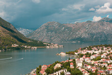 Top View Fron The Mount On The Kotor City Before The Storm
