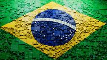 Brazilian Colors Tech Wallpaper