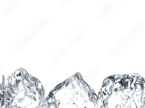 複数の氷 Fototapet