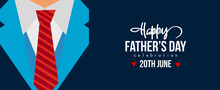 Happy Father's Day Lettering Greeting Card. Vector Illustration.Poster Or Banner With Super Dad Concept , I Love My Dad