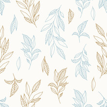 Floral Seamless Patterns. Vector Design For Paper, Cover, Fabric, Interior Decor