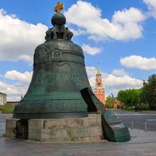 Tsar Bell In Moscow Kremlin, Russia