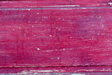 Magenta Wooden Copy-space, Scratched, Vintage, Texture Or Background