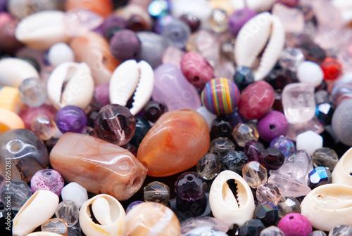 Fotomural perline colorate