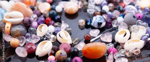 Cuadros en Lienzo perline colorate