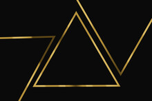 Tło Z Elementami Złota