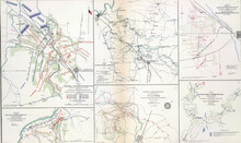 Maps Of Key Battles And Movements Of The Civil War