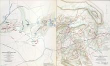 Maps Of The Battlefields Of Manassas 21st July, 1861