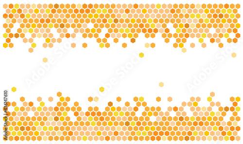 Fotografiet Hexagon / Honeycombs