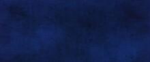 Elegant Sapphire Blue Background With White Hazy Top Border And Dark Black Grunge Texture Bottom Border, Luxury Blue Design