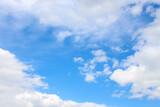 Fototapeta Na sufit - Niebo pokryte chmurami