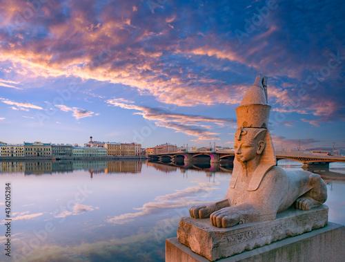 Carta da parati Panorama of Saint Petersburg