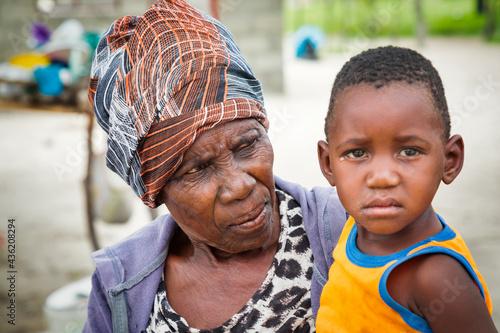 Fotografija African old granny