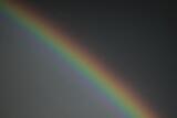 Fototapeta Tęcza - wspaniały  widok   tęczy  na  niebie  po  wielkiej  burzy