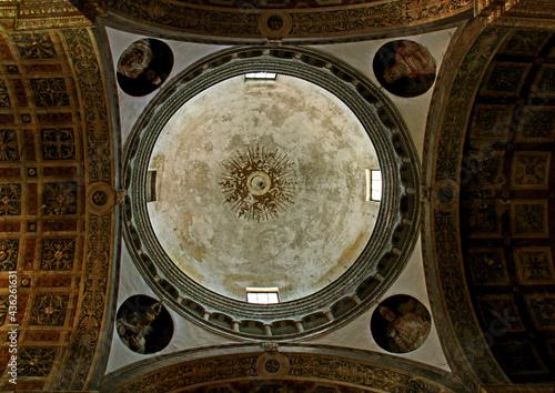 Canvas La cupola del tiburio della chiesa di San Sisto a Piacenza