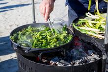 Roasting Vegetables On Grill